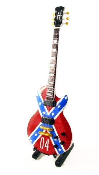 Zakk Wylde Confederate Miniature Guitar Replica Collectible